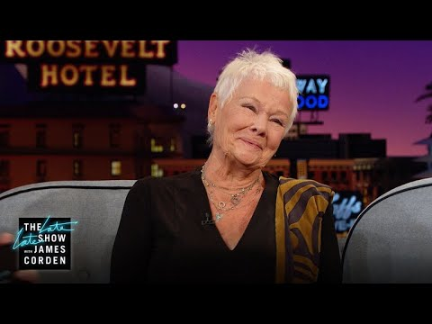 Dame Judi Dench Shows Off Her Only Tattoo