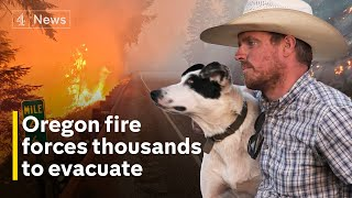 Bootleg Fire continues to rip through Oregon damaging livelihoods and causing thousands to evacuate