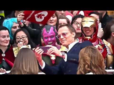 Global Displays - Captain America: Civil War Premiere Timelapse
