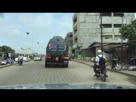 Driving in Cotonou, August 2016