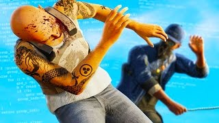 IMPOSSIBLE FIGHT THAT NO ONE CAN BEAT! (Watch Dogs 2 Funny Moments)