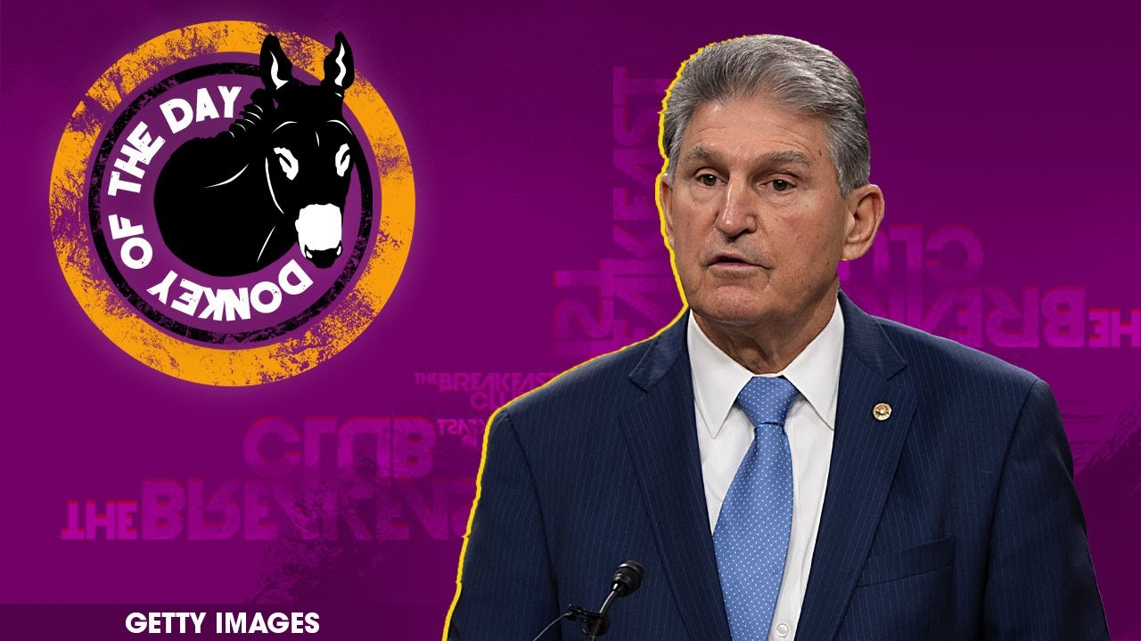 """Joe Manchin """"Can't Imagine"""" Supporting Change To Filibuster For Voting Rights"""