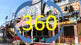 TRAIN FANTOME [Onride / 360 Video] Troyes 2017