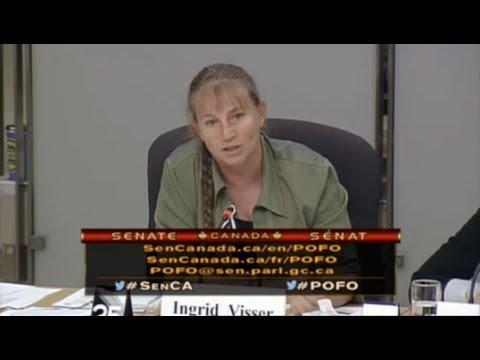 Dr. Ingrid Visser's Canada Senate Testimony: Cetacean Captivity is Cruel