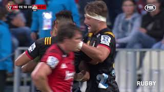 2018 Super Rugby Round Two: Crusaders vs Chiefs