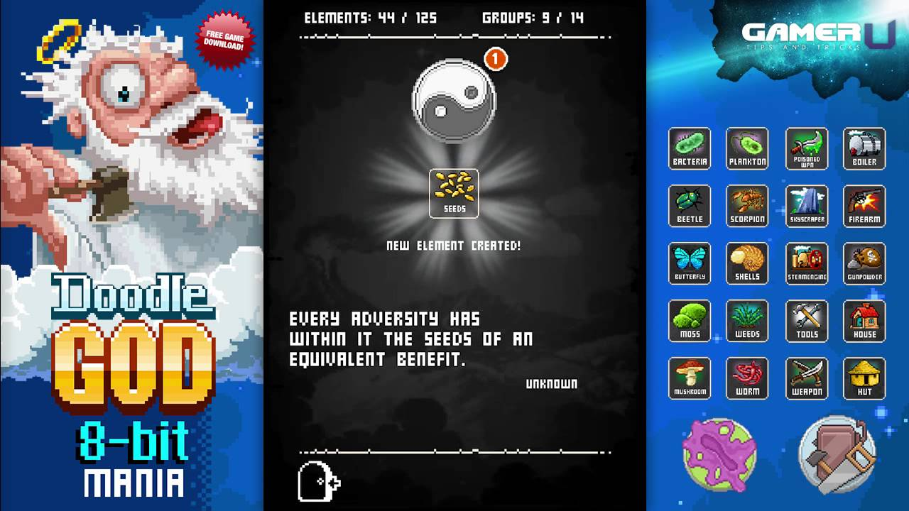 Doodle god free download for pc full
