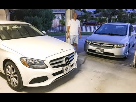 2017 Mercedes C300 vs 2007 Honda Civic - Your ego vs your wallet. Who wins?