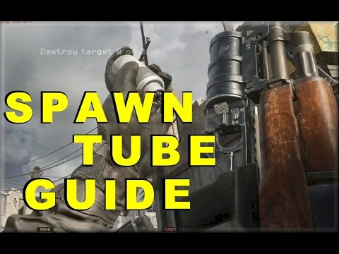 CALL OF DUTY MWR: THE BIG SPAWN TUBE GUIDE (how to spawn tube)