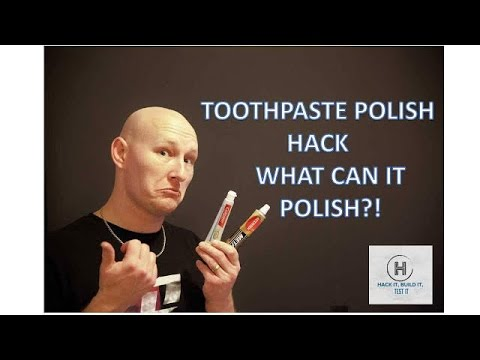 Toothpaste Polish Hack.. What Can it Polish!!