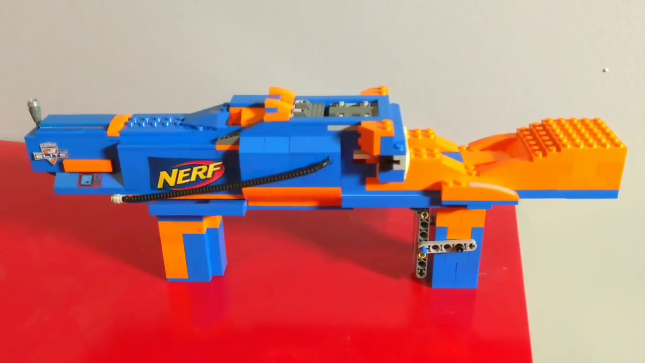 How To Build Lego Guns Working