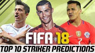 Fifa 18 top 10 best strikers player ratings predictions - striker ronaldo?!