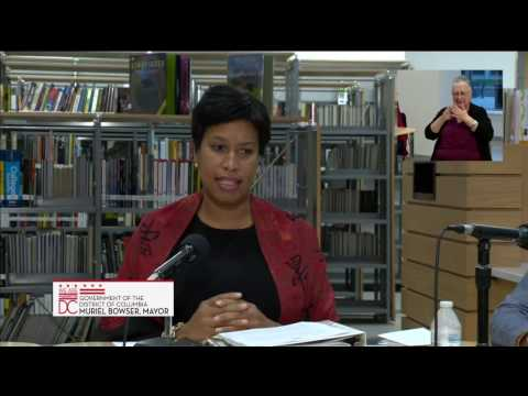 Mayor Bowser Hosts Community Conversations Call, 11/19/16