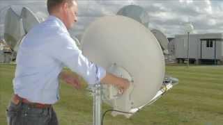 Installationsvideo des KA-SAT Systems auf 9°Ost