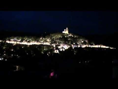 Veliko Tarnovo Tsarevets lightshow