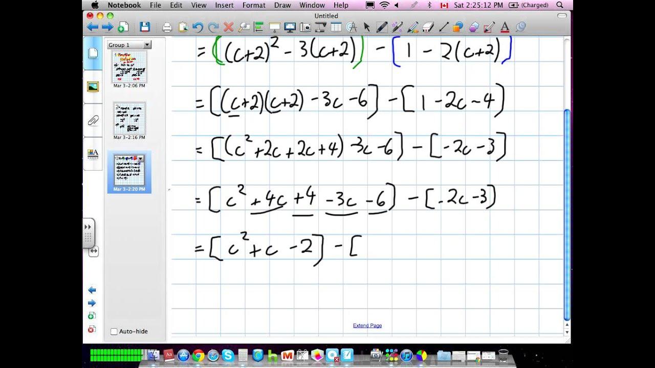 Function Notation Grade 11 University Lesson 1 2 03:02:12 - YouTube