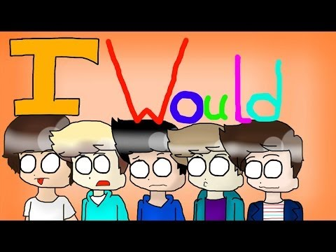 One Direction - I would ( Animated )