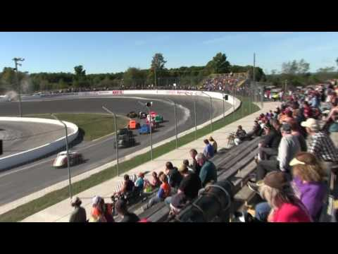 Sunset Speedway Legend Cars Heat 1 2016 09 24