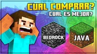 Download Minecraft JAVA vs BEDROCK: ¿Cual Es La DIFERENCIA y Cual Deberías Comprar En 2019? Mp3 and Videos