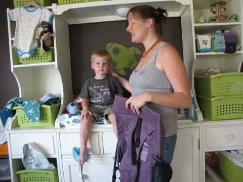0058b330c91 PAXbaby Beco Butterfly Toddler Wearing Demo - YouTube