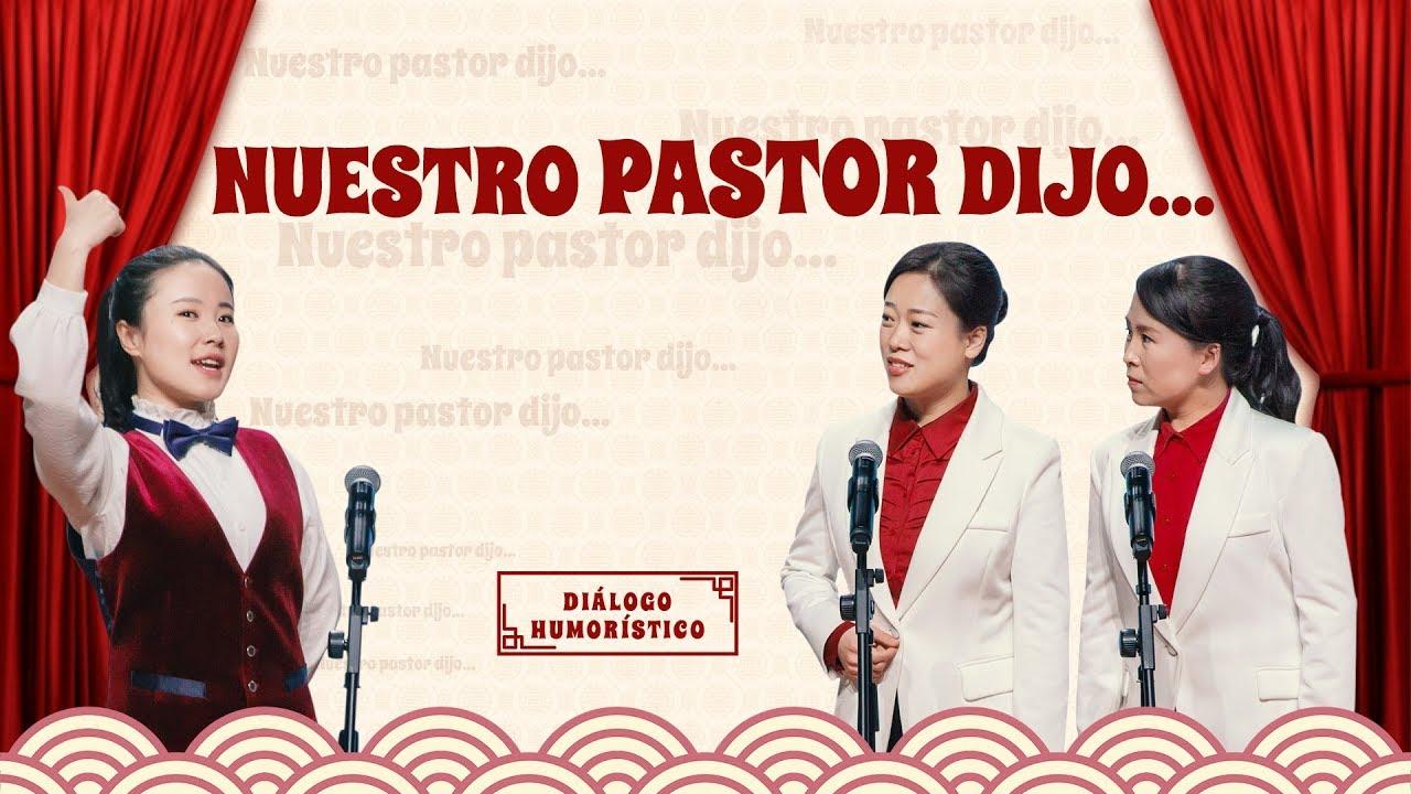 "Reflexión cristiana   ""Nuestro pastor dijo…"" (Diálogo humorístico)"