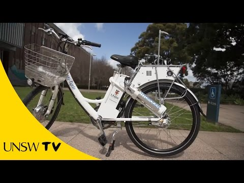 Hy-Cycle - Australia's first fuel cell bike