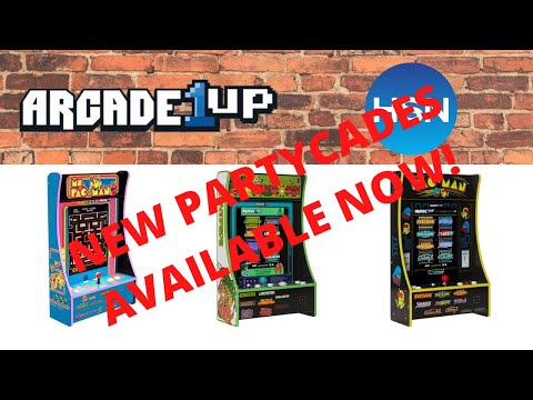 Arcade1up: In Depth Look at 3 New PartyCades from HSN. Ms. Pac-man, Centipede and Pac-man! from PsykoGamer