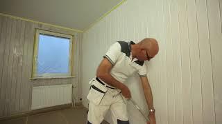 Как покрасить деревянные стены | Покраска дерева