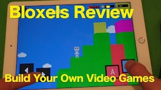 Bloxels Review, Build Your Own Video Games...With Blocks?? We Take A Look