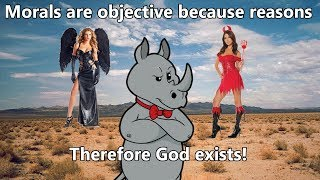 Morality is Objective, Therefore God.