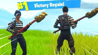 "Fortnite ""SCOUNDREL et RAPSCALLION"" SKIN GAMEPLAY."