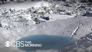 Greenland glacier is growing again, NASA says