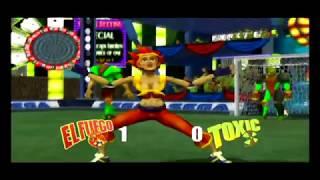 Sega Soccer Slam (GameCube) El Fuego vs Toxic