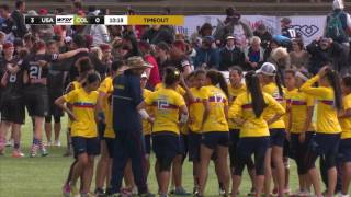 WUGC 2016 - USA vs Colombia Women's Gold Medal Game