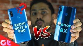 Redmi Note 6 Pro vs Honor 8X Comparison, Camera, Speed, Design, Battery