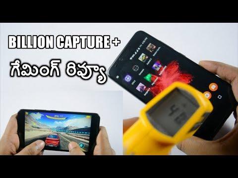 Flipkart billion capture plus gaming review ll in telugu ll