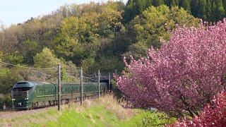 JR西日本 TWILIGHT EXPRESS 瑞風と山陰の列車 山陰本線・伯備線 2021年4月15日他