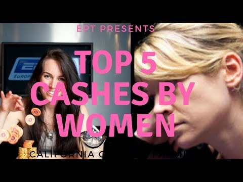 Top 5 Biggest EPT Cashes by Female Poker Players