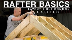Beginner Rafter Layout | Speed Square | Common Rafter