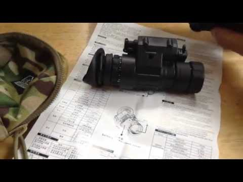 Chinese PVS 14 clone, digital night vision compared to real deal