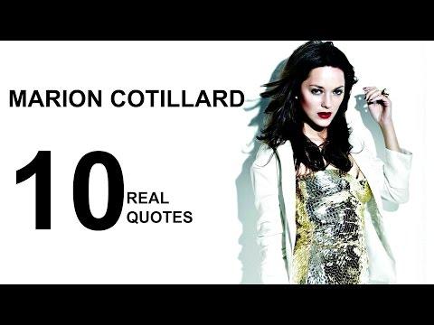 Marion Cotillard 10 Real Life Quotes on Success  Inspiring  Motivational Quotes