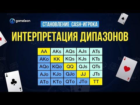 Становление CASH-игрока. Основы. Урок №6. Интерпретация диапазонов