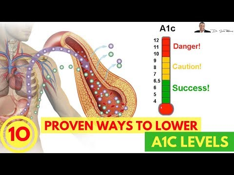 🍬 How To Lower Your A1C Levels -  10 Easy & Clinically Proven Ways