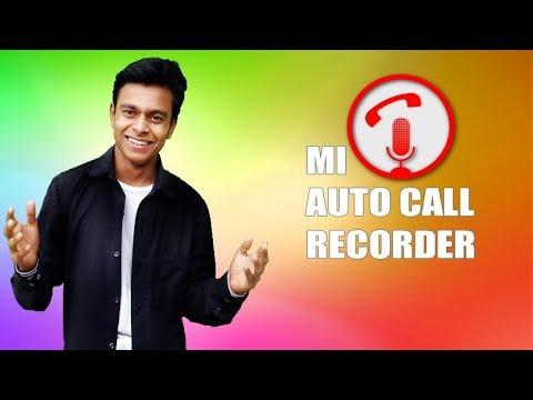Auto Call Recorder For RedMI