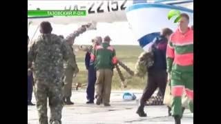 Тазовчане отправили тундровикам Ямальского района заготовки для чумов