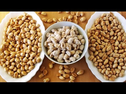 Как приготовить соленый арахис