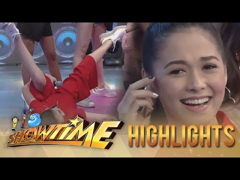 It's Showtime Copy-Cut: Maja is on the go in Copy-Cut