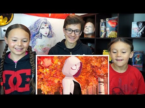 SPIDER-MAN: INTO THE SPIDER-VERSE Official Trailer REACTION!!!