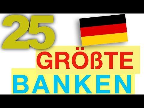 Größte Banken Deutschlands