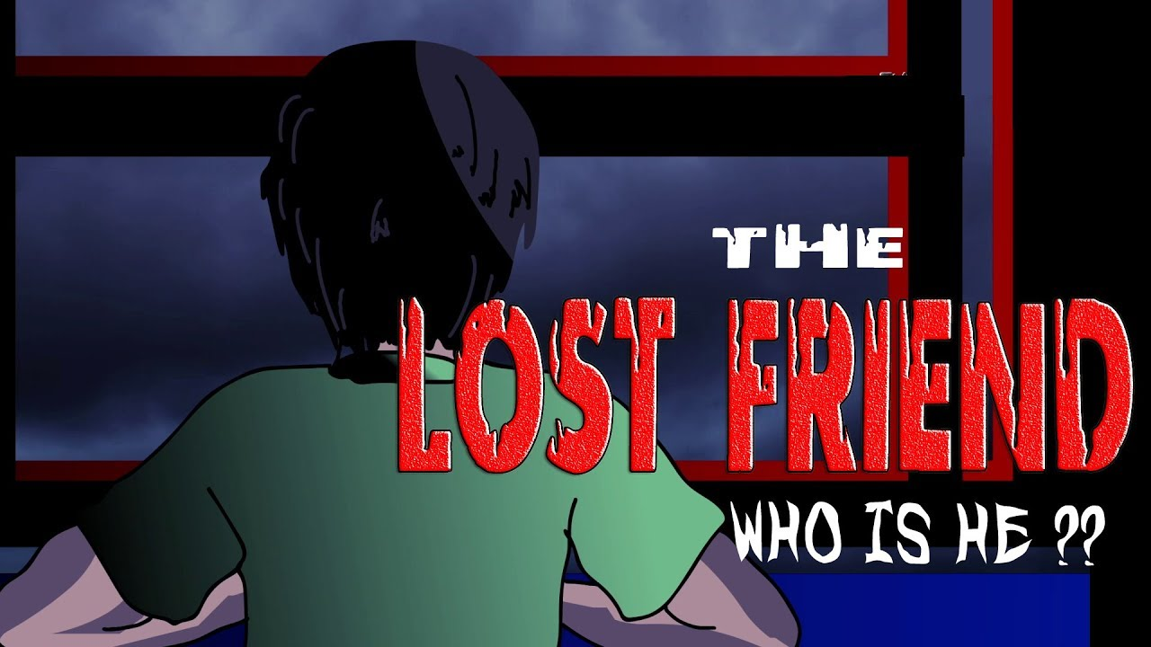 Scary Friend Story (Animated in Hindi)