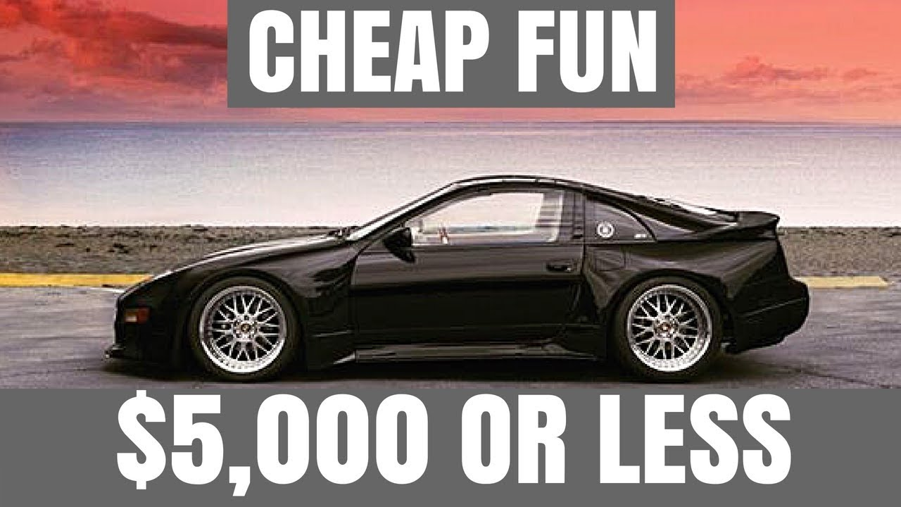 Cars For Less >> 5 Cheap Fun Cars For Less Than 5 000